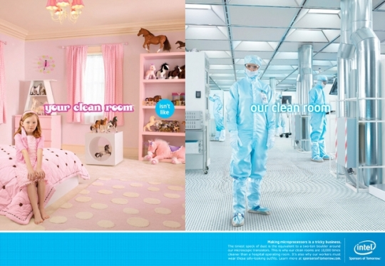 Intel Clean Room
