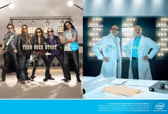 Intel Rock Stars